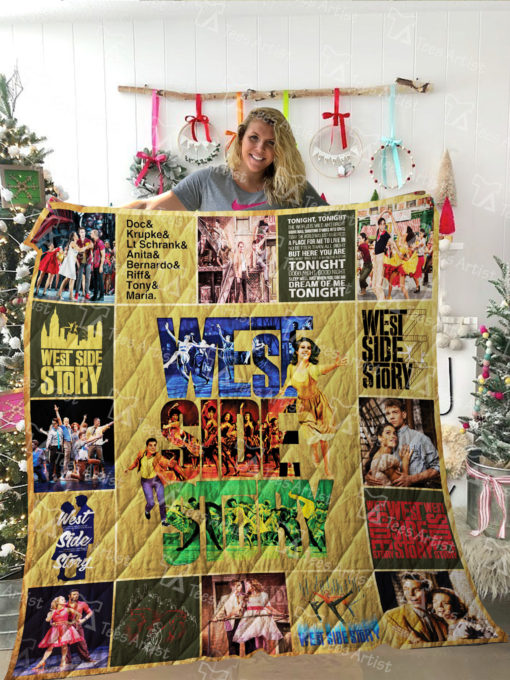 West Side Story Quilt Blanket 02151