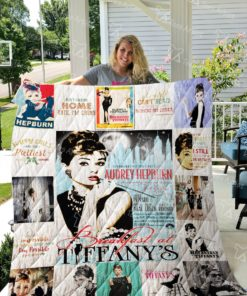 Breakfast at Tiffany's Quilt Blanket 0691