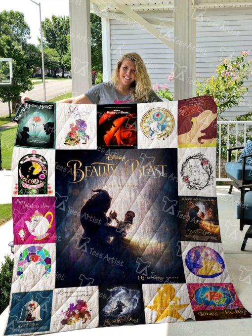 Beauty And The Beast Quilt Blanket 0702