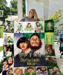Drop Dead Fred Quilt Blanket 0704