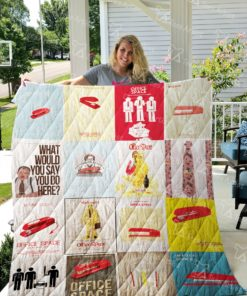 Office Space Quilt Blanket 0695