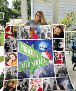 Miracle On 34th St Quilt Blanket 0698