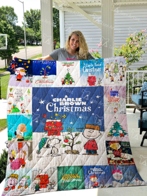 A Charlie Brown Christmas Quilt Blanket 0842