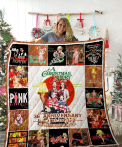 A Christmas Story Quilt Blanket 02262