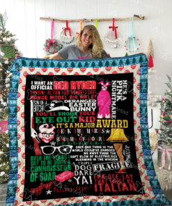 A Christmas Story Quilt Blanket 02286