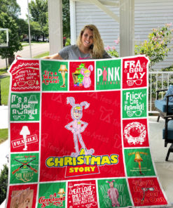 A Christmas Story Quilt Blanket 0782