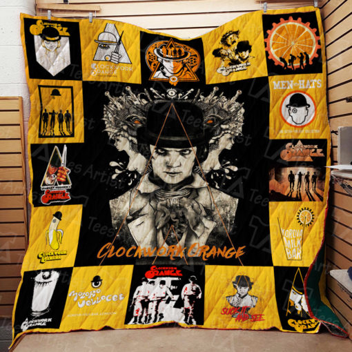 A Clockwork Orange Quilt Blanket 01903