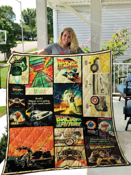 Back To The Future Quilt Blanket 01192