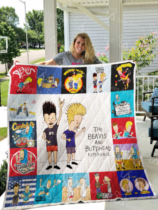 Beavis and Butt-Head Quilt Blanket 0615