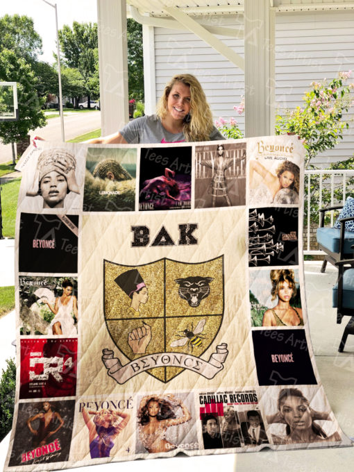 Beyonce Quilt Blanket 0917