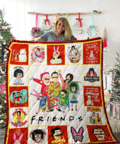 Bob's Burgers & Friends TV show Quilt Blanket 02243