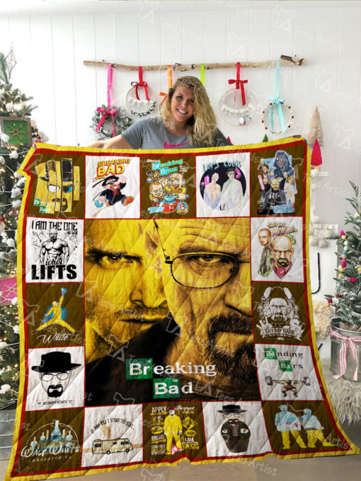 Breaking Bad Quilt Blanket 02292