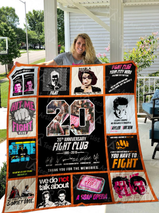 Fight Club Quilt Blanket 01497