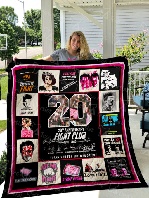 Fight Club Quilt Blanket 01546