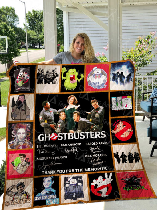 Ghostbusters Quilt Blanket 01531