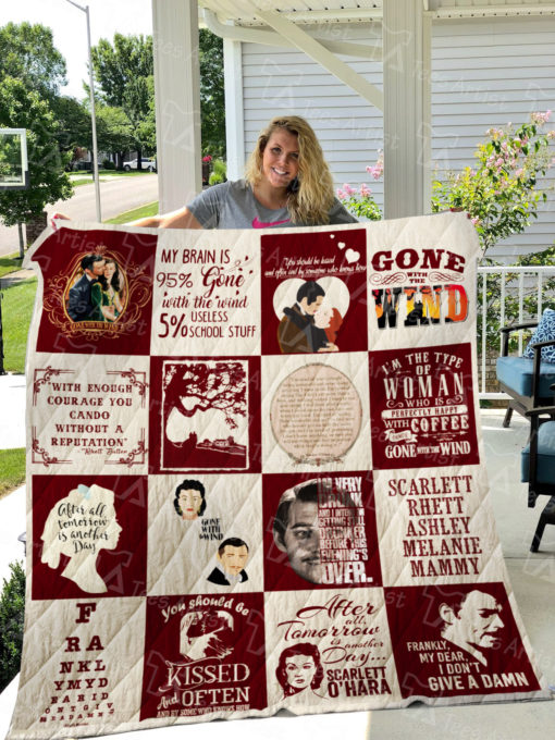 Gone With The Wind Quilt Blanket 01086