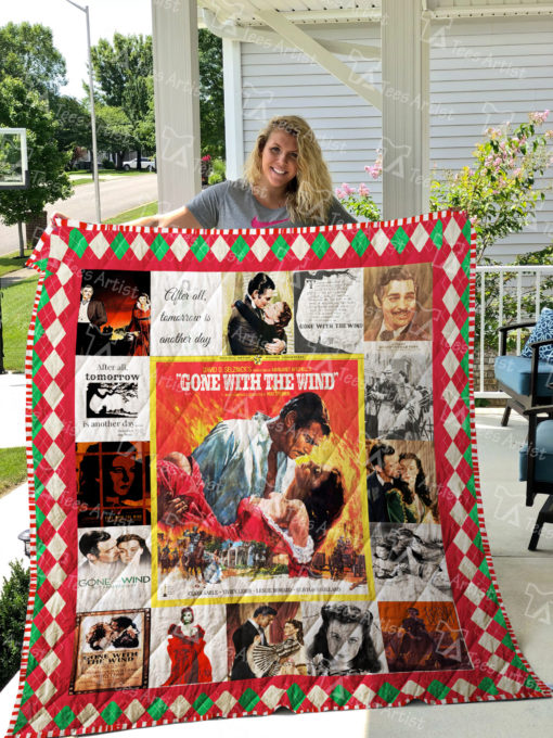 Gone With The Wind Quilt Blanket 01960