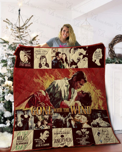 Gone With The Wind Quilt Blanket 02257