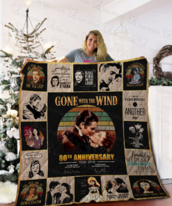Gone With The Wind Quilt Blanket 02268