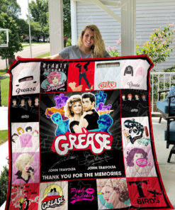 Grease Quilt Blanket 01576