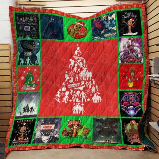 Guardians of the Galaxy Quilt Blanket 01967