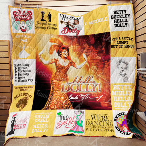 Hello, Dolly Quilt Blanket 01688