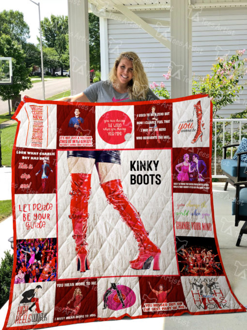 Kinky Boots Quilt Blanket 01706