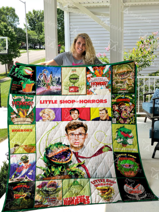 Little Shop of Horrors Quilt Blanket 01936