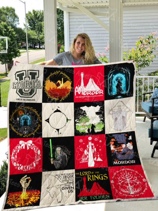 Lord Of The Rings Quilt Blanket 01088
