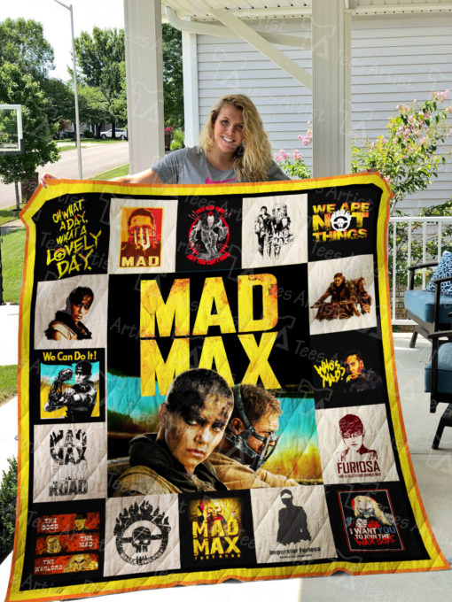 Mad Max Quilt Blanket 01601