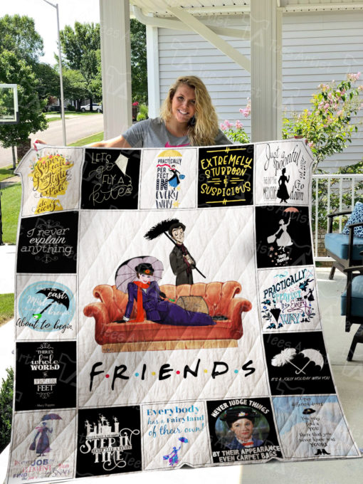 Mary Poppins Quilt Blanket 01669