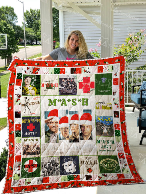 M*A*S*H Quilt Blanket 01987