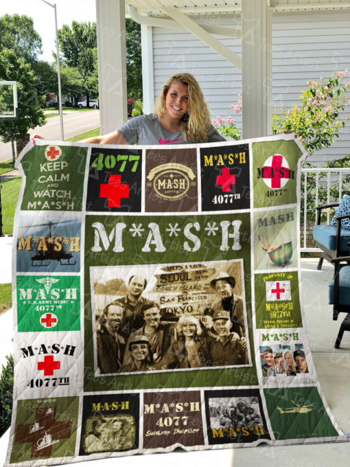 M*A*S*H TV Quilt Blanket 01294