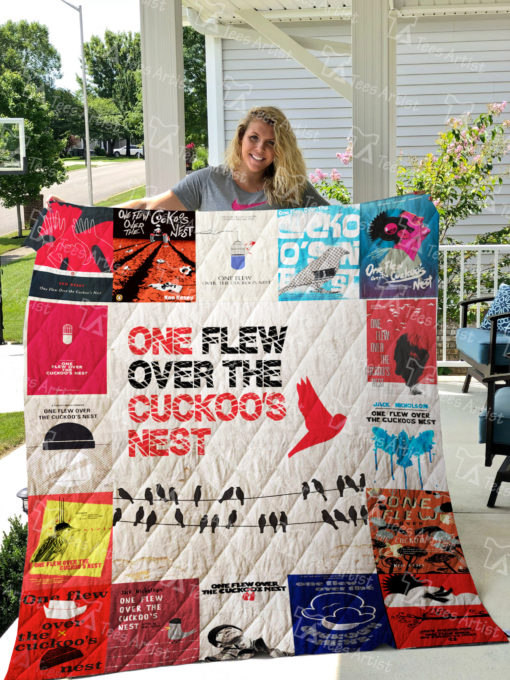 One Flew Over the Cuckoo's Nest Quilt Blanket 01744