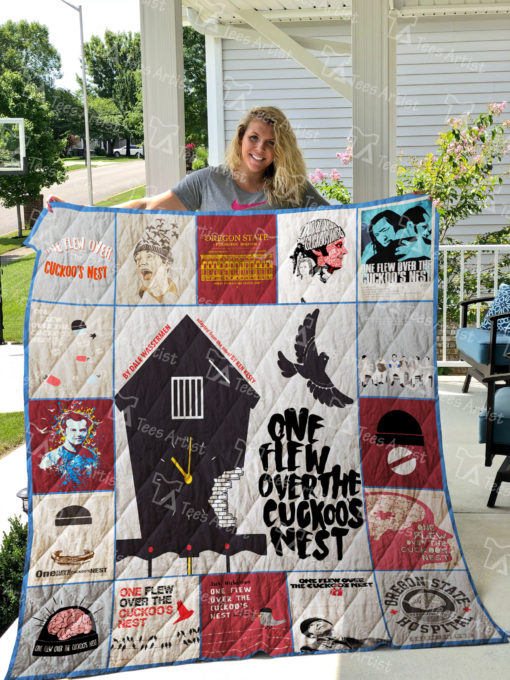 One Flew Over the Cuckoo's Nest Quilt Blanket 01946