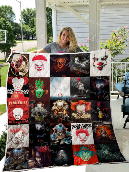 Pennywise IT Quilt Blanket 01258
