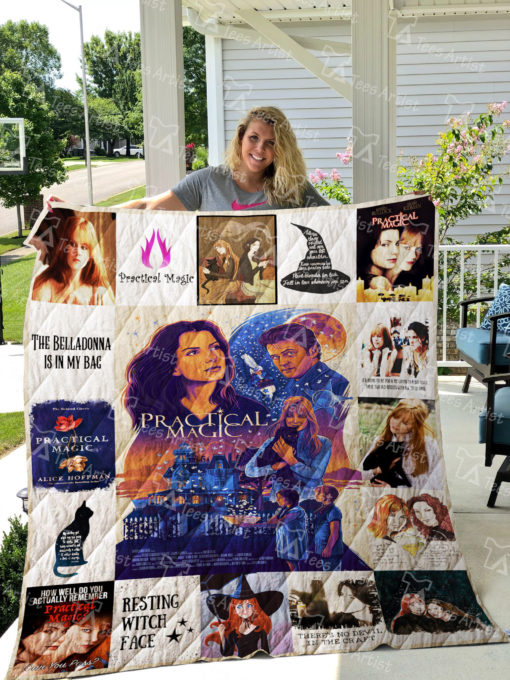 Practical Magic Quilt Blanket 01796