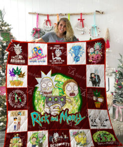 Rick and Morty Quilt Blanket 02241