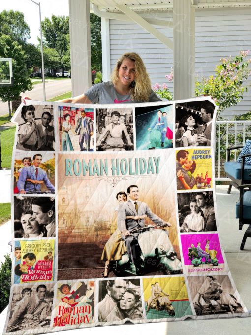 Roman Holiday Quilt Blanket 0786