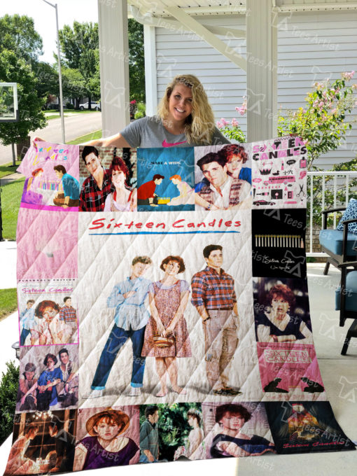 Sixteen Candles Quilt Blanket 01059