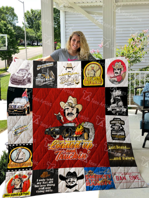 Smokey And The Bandit  Quilt Blanket 01329