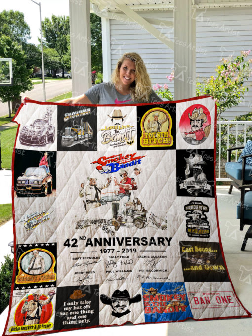 Smokey and the Bandit Quilt Blanket 01574