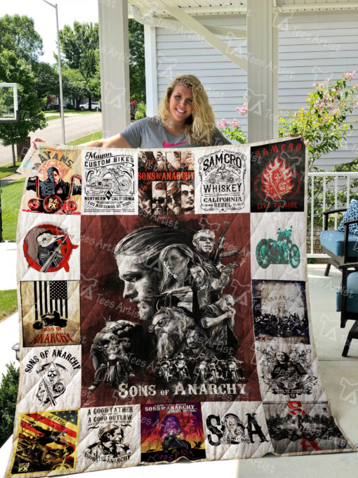 Sons of Anarchy Quilt Blanket 01797