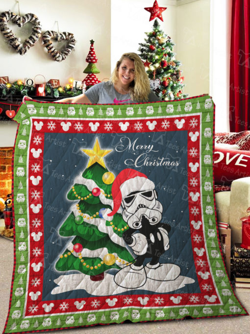 Star Wars And Mickey Quilt Blanket 01989