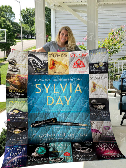 Sylvia Day Quilt Blanket 0987
