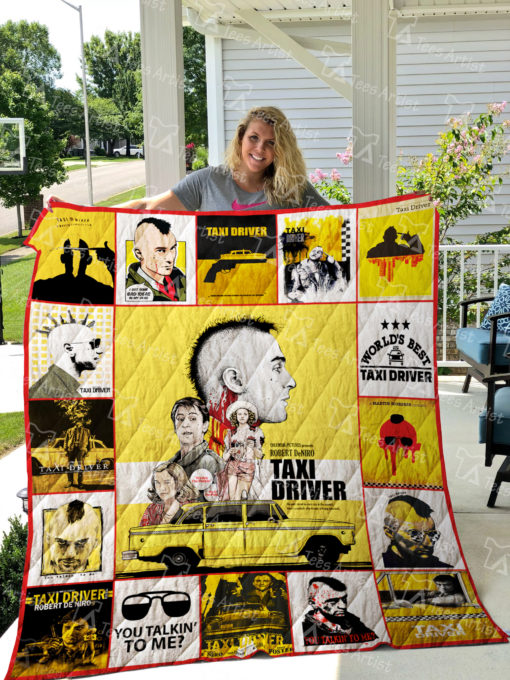 Taxi Driver Quilt Blanket 01832