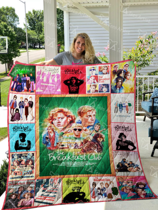 The Breakfast Club Quilt Blanket 01868