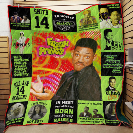 The Fresh Prince of Bel-Air Quilt Blanket 01884