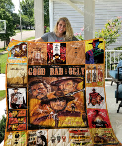 The Good, the Bad and the Ugly Quilt Blanket 01911