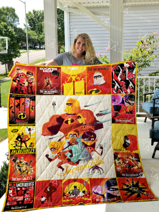 The Incredibles Quilt Blanket 01934